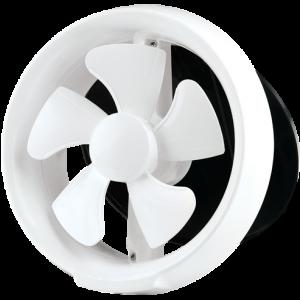 Round window exhaust fan